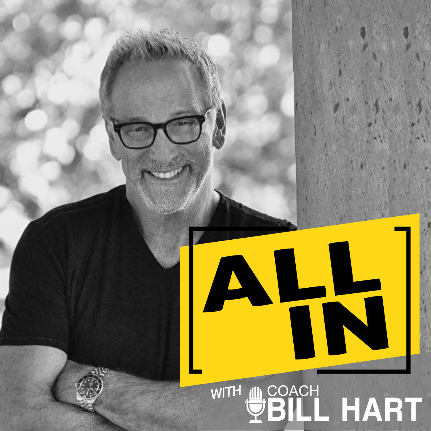 All In with Coach Bill Hart show art