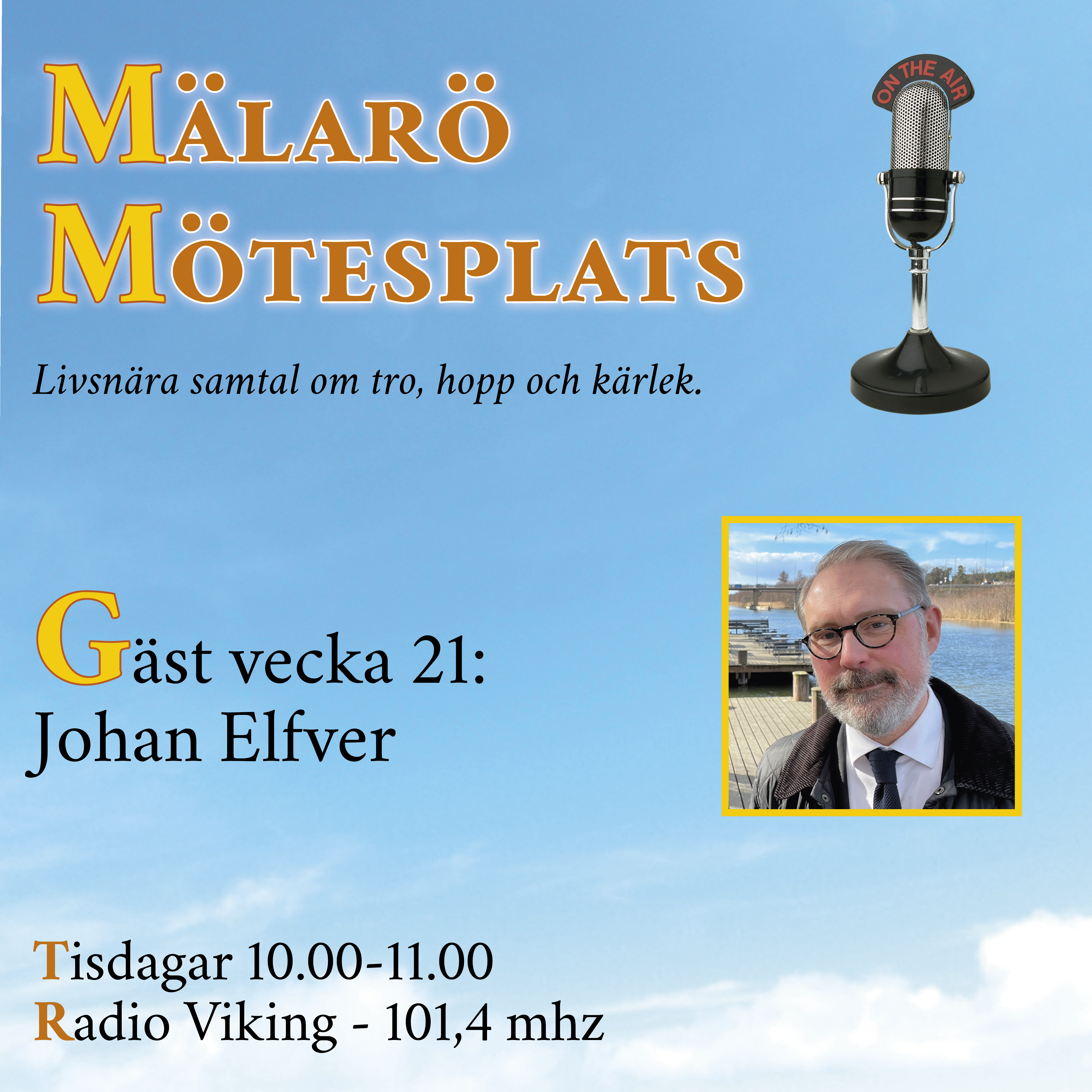 Möte med Johan Elfver