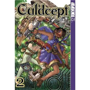 Manga Review: Culdcept Volume 2