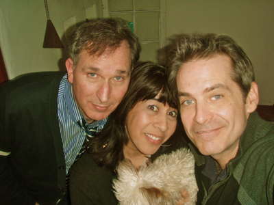 Wayne Federman, Stef Zamorano, and Jimmy Dore