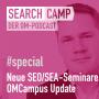 Artwork for Fünf spannende neue SEO- und SEA-Seminare: OMCampus Update 2019 [Search Camp Special]