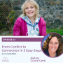 Artwork for EP 24 - Claire Cetti - From Conflict to Connection in 5 Easy Steps