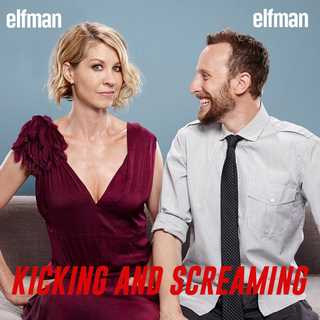 Kicking and Screaming by Jenna and Bodhi Elfman show art