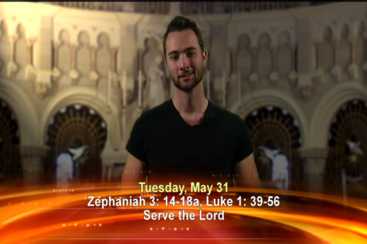 Artwork for Tuesday, May 31st Today's topic: Serve the Lord