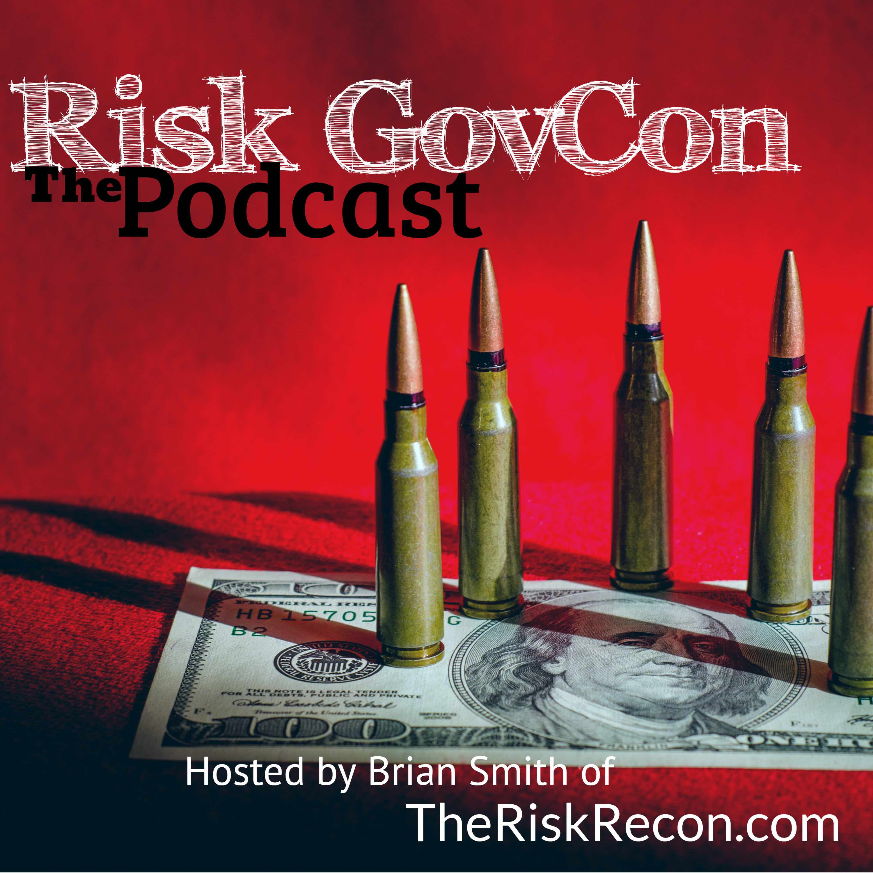 The Risk GovCon Podcast show art