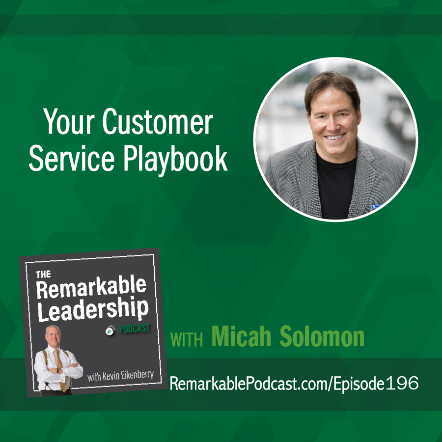 Your Customer Service Playbook with Micah Solomon show art
