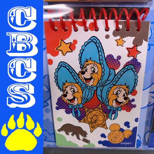 Artwork for 2019 Tokyo Disneyland Sun Bonnets Notepad - Country Bear Collector Show #206