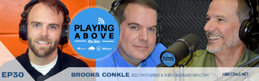 Playing Above The Line | 30 | Brooks Conkle