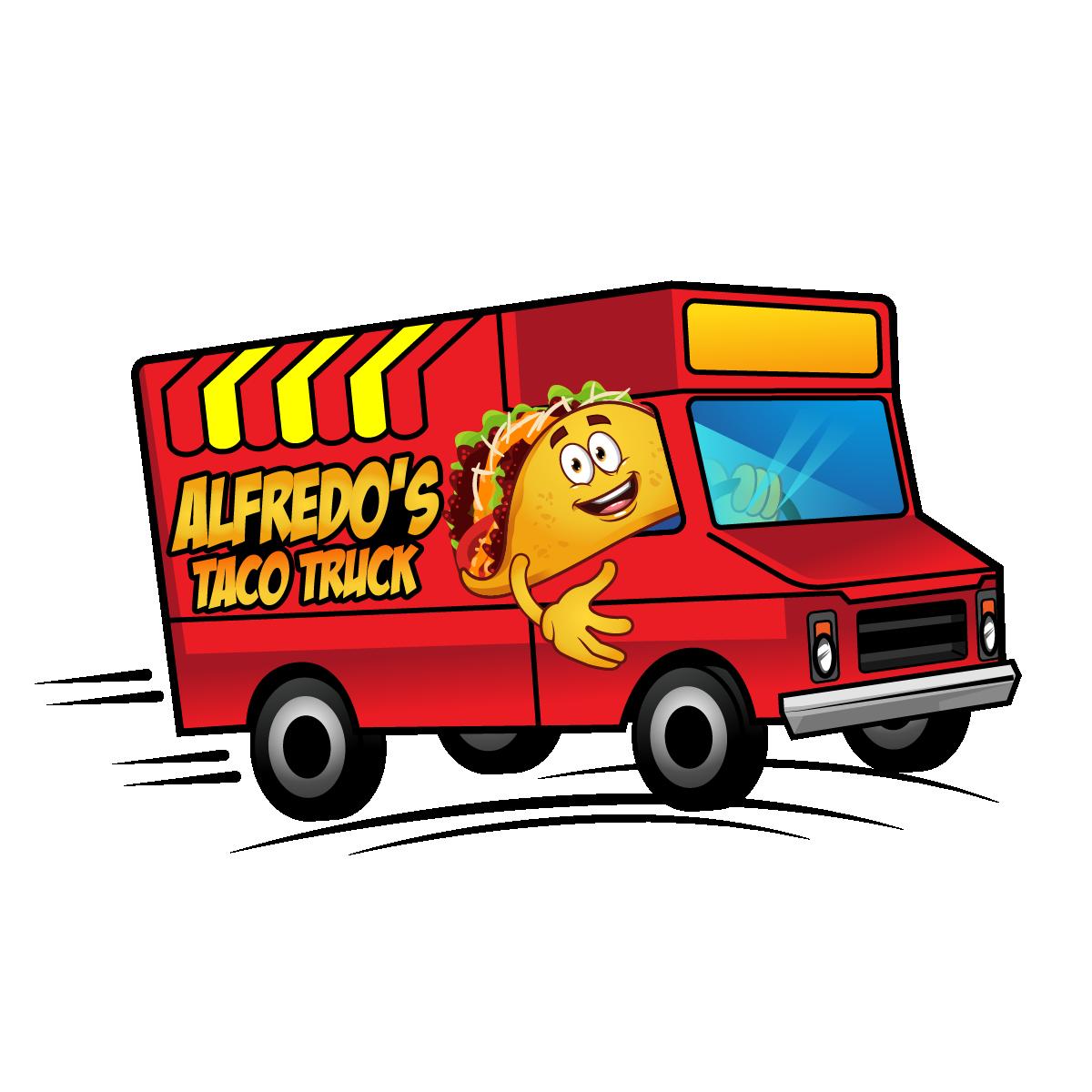 Alfredos Size 3 Taco Truck show art