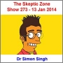 Artwork for The Skeptic Zone #273 - 13.Jan.2014