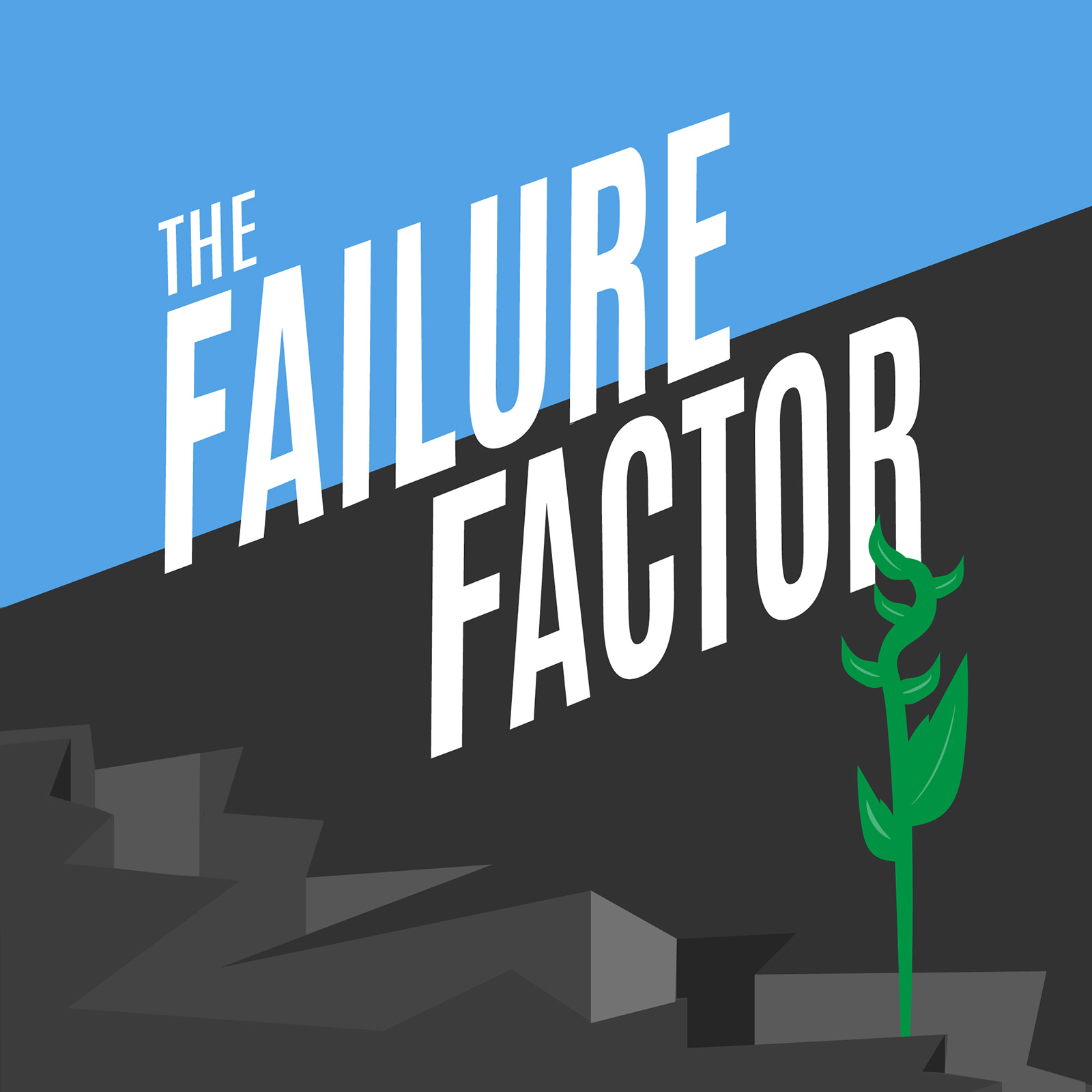 Artwork for The Failure Factor Episode 7: Deepak Chopra Once Emptied The Contents Of His Briefcase On His Boss's Head