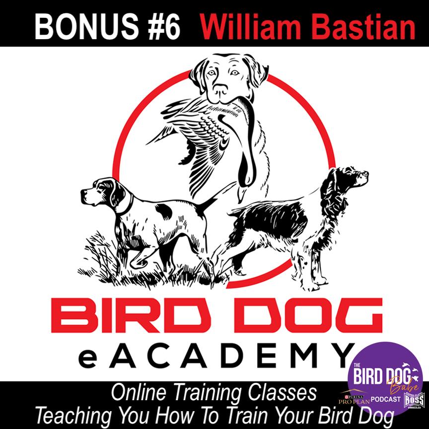 Bonus #6 - Bird Dog eAcademy: Teaching You How To Train Your Bird Dog w/ William Bastian