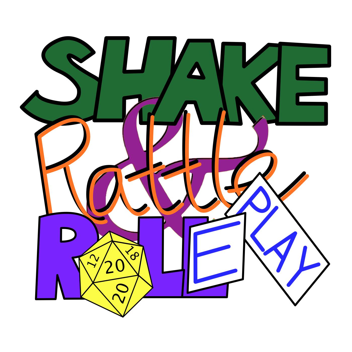 Shake, Rattle & Roleplay logo