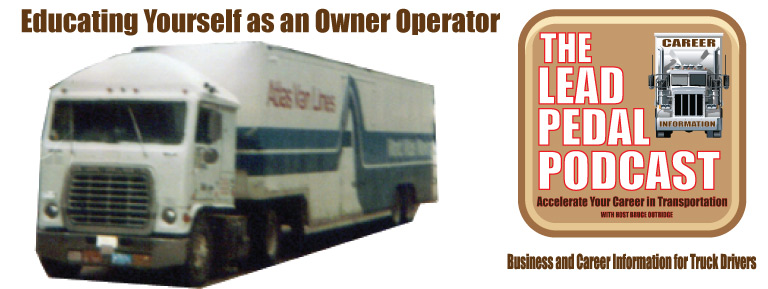 Becoming an Owner Operator