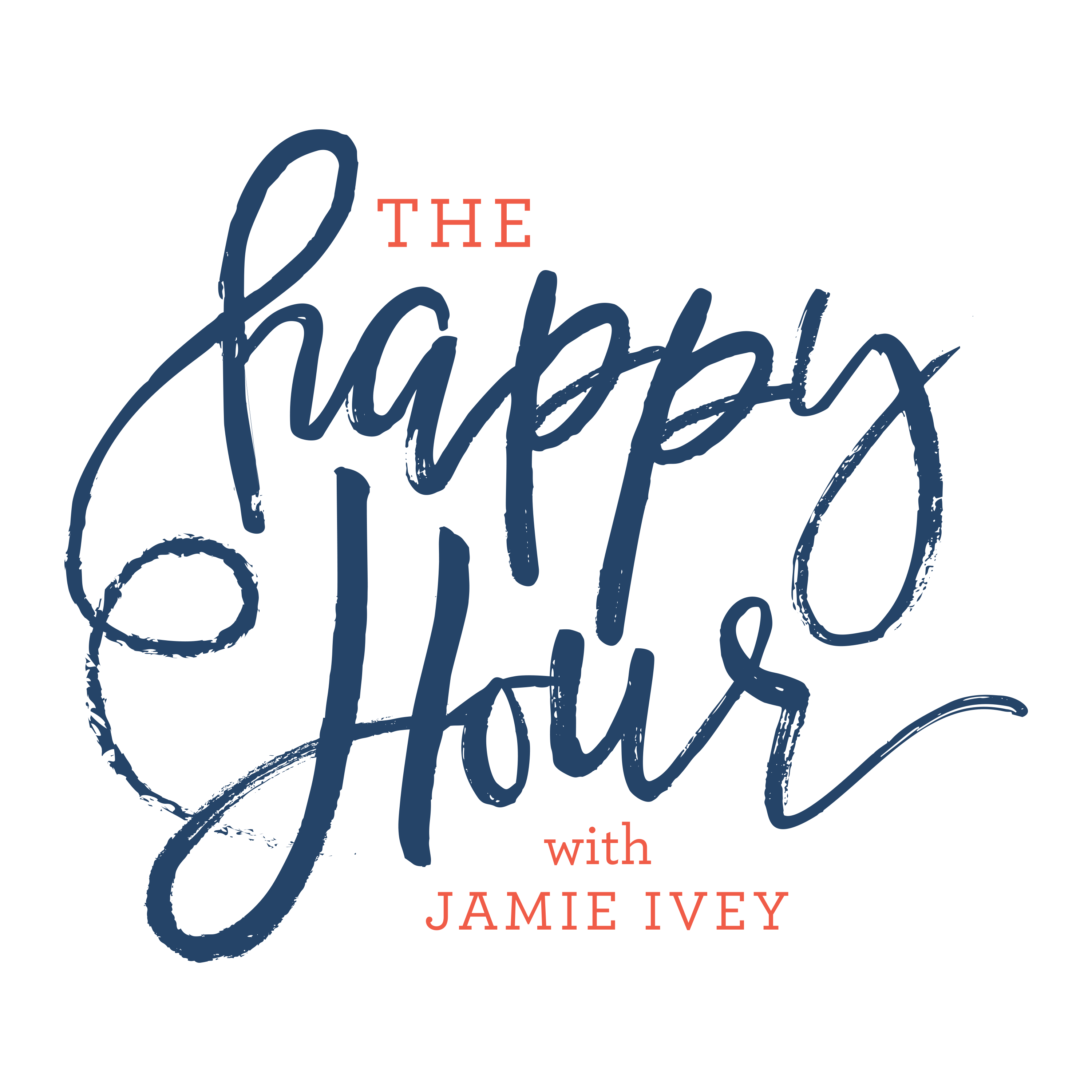 The Happy Hour with Jamie Ivey logo
