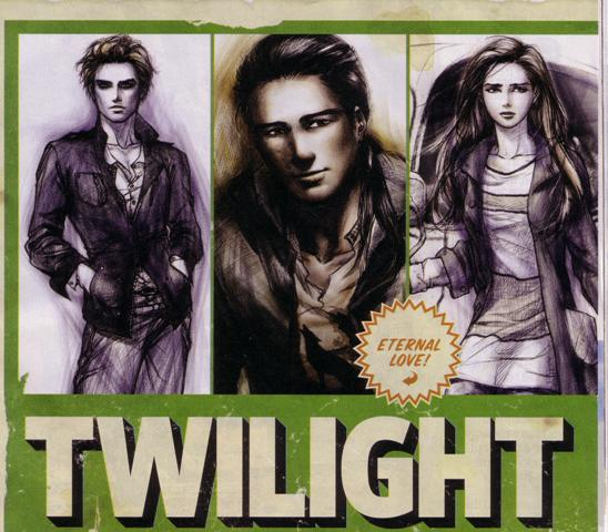 New Pictures From Twilight: The Graphic Novel by Young Kim