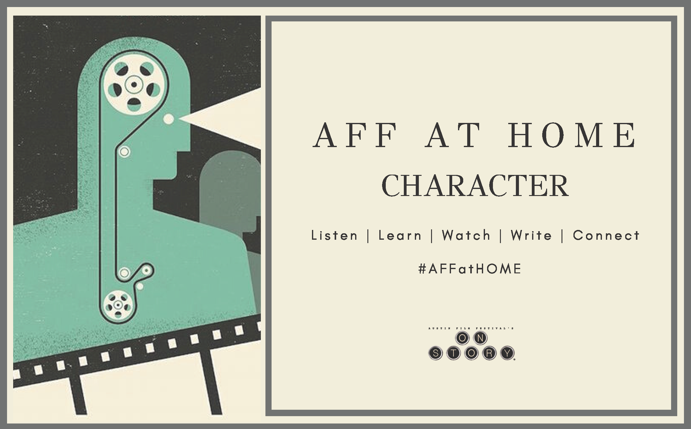 Artwork for AFF at Home: Character