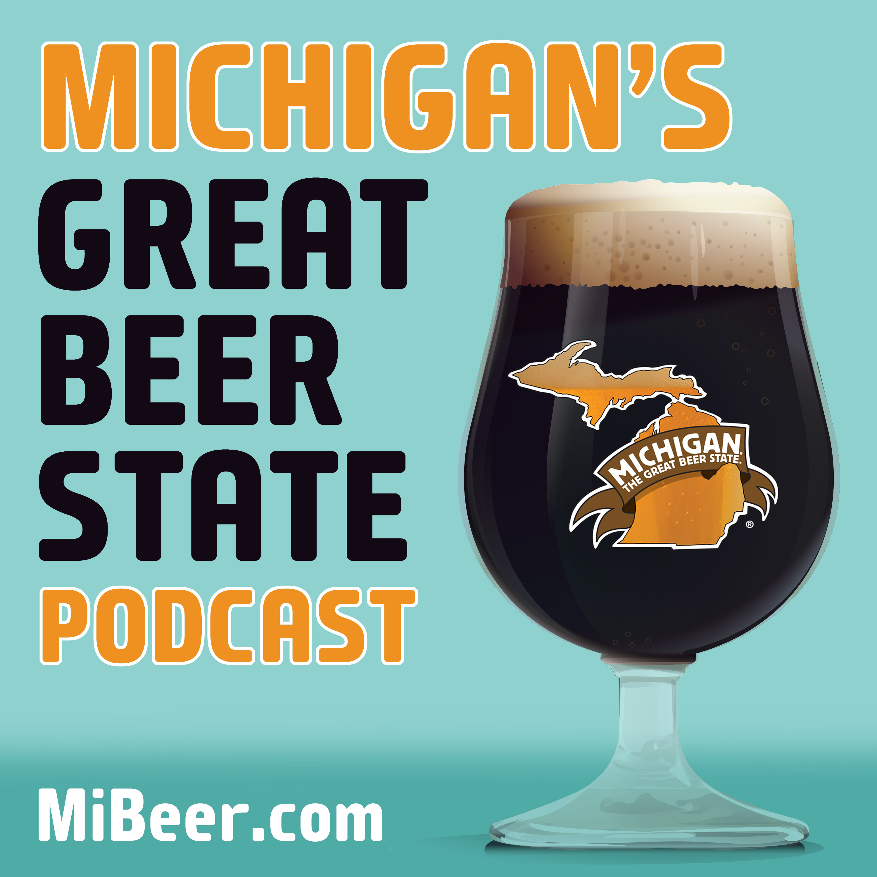 Michigan's Great Beer State Podcast show art