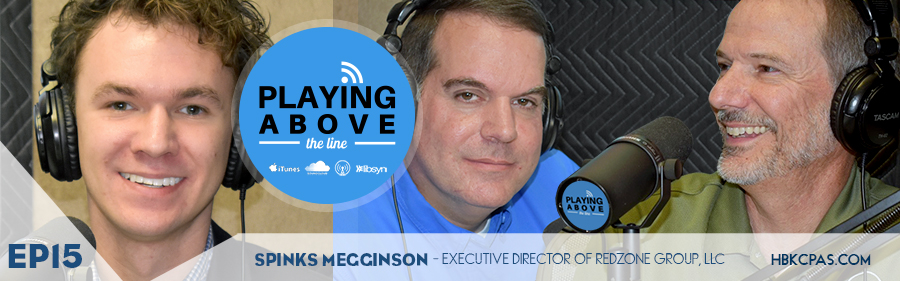 Playing Above The Line | Spinks Megginson | Ep16