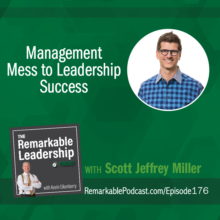Management Mess to Leadership Success with Scott Jeffrey Miller show art