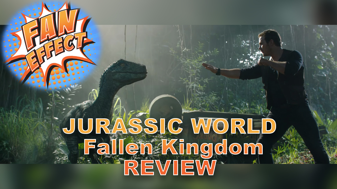 "Artwork for VIDEO REVIEW: ""Jurassic World: Fallen Kingdom"" Proves We're Running Out of Interesting Dinosaur Stories"