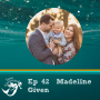 Artwork for 42: Postpartum health; mental health & nutrition with nutritionist & author Madeline Given.