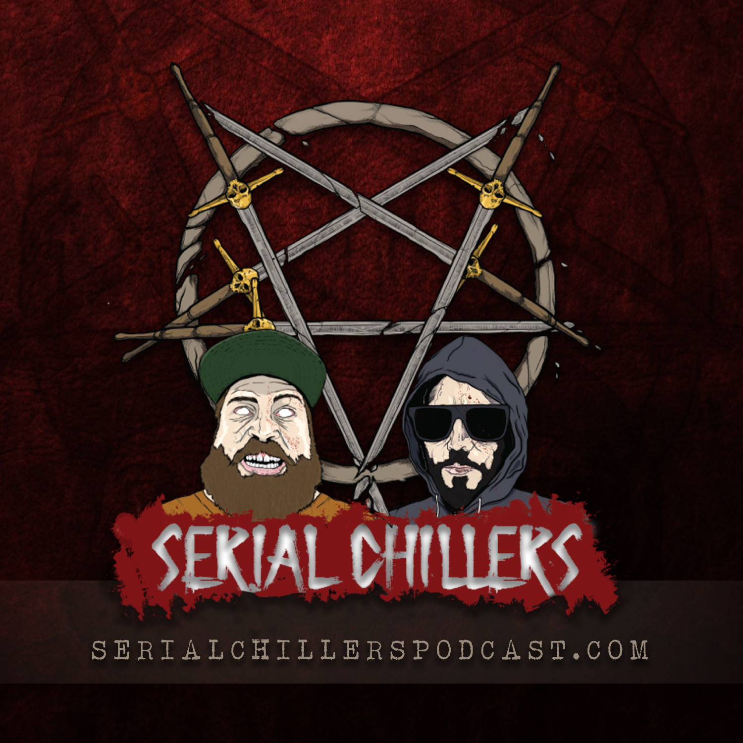 Serial Chillers Podcast show art