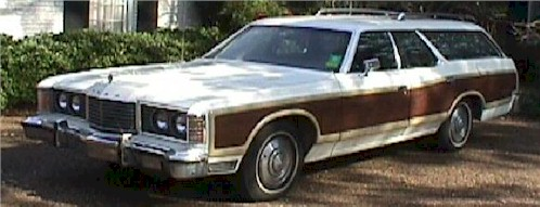 The Ford Country Squire Station Wagon: Everything Is Created For A Purpose
