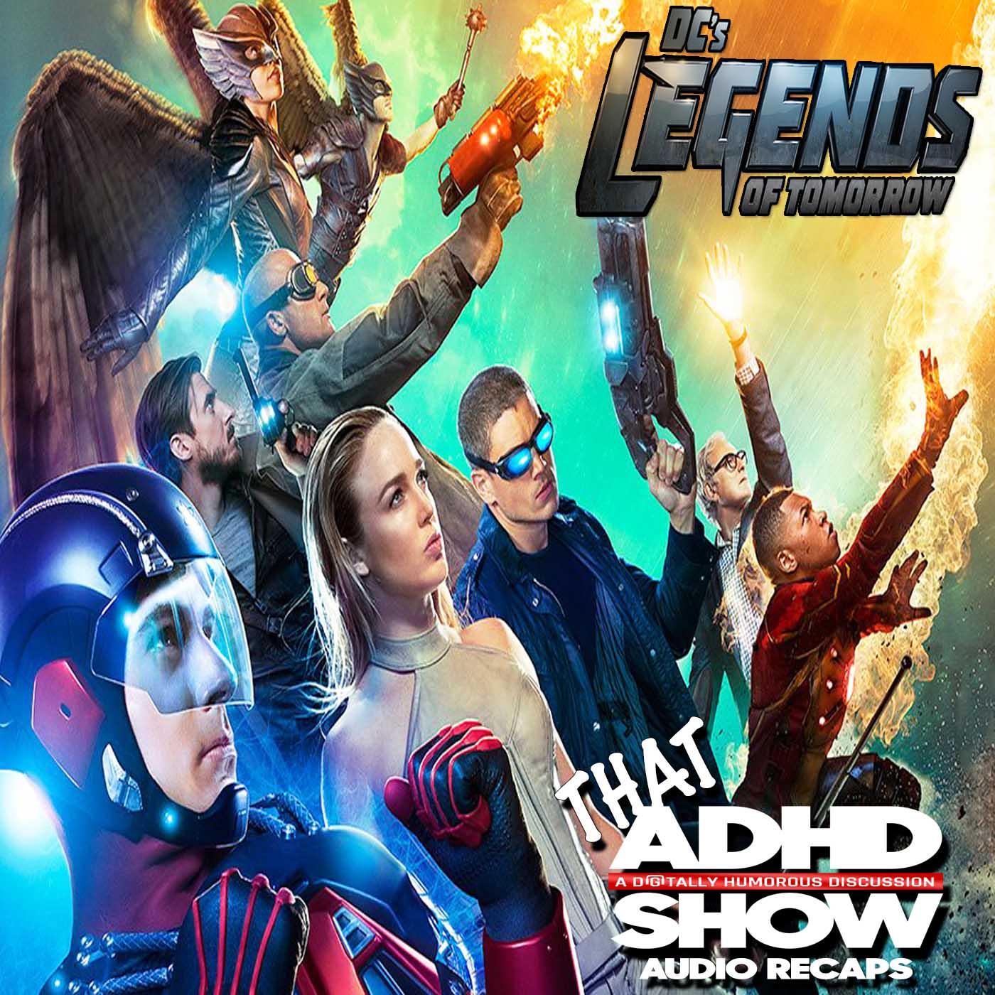 """Artwork for Legends Of Tomorrow """"Pilot, Part 1"""" Recap"""