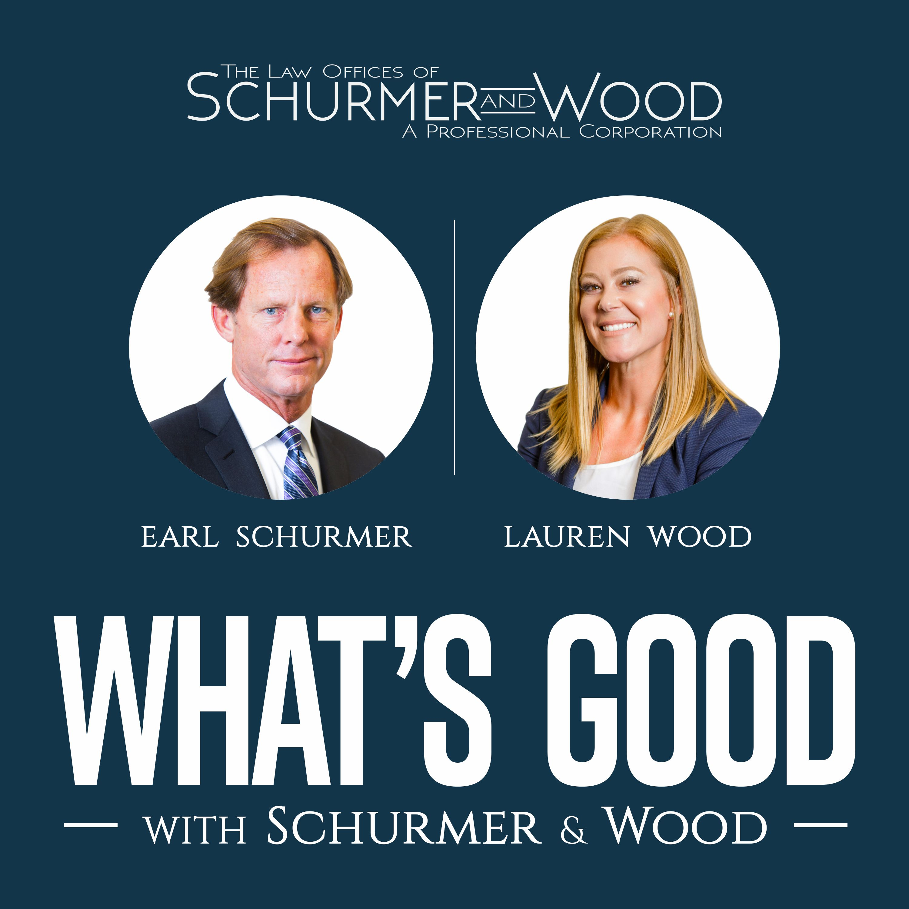 What's Good With Schurmer and Wood Podcast. show art