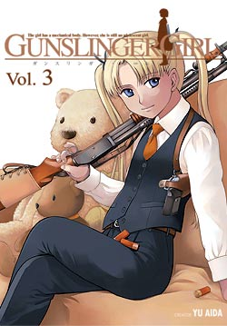 Manga Review: Gunslinger Girl Volume 3 by Yu Aida
