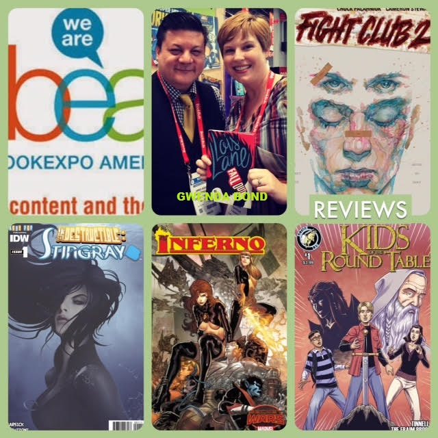 Episode 613 - Book Expo America Recap/BEA chat w/ Gwenda Bond/Special Edition NYC Preview!