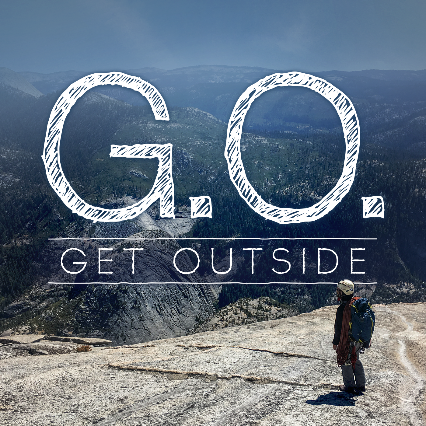 G.O. Get Outside Podcast - Everyday Active People Outdoors show art