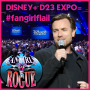 Artwork for 19.10 Disney+ D23 Expo = #fangirlflail