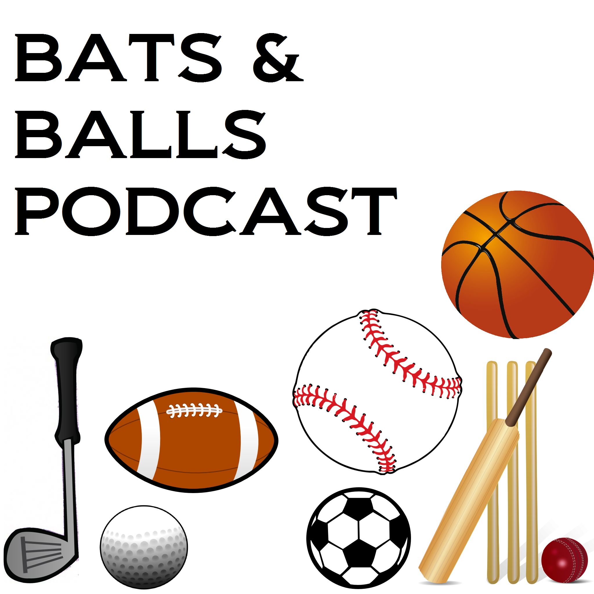 Bats and Balls Podcast logo