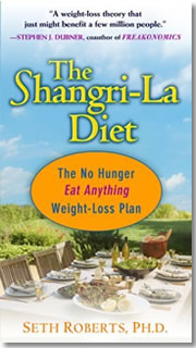 Seth Roberts' Shangri-La Diet Is So Easy The Fat Guy Can Do It. And Terisha Tatter Carson - Atlanta's Best Massage Therapist.