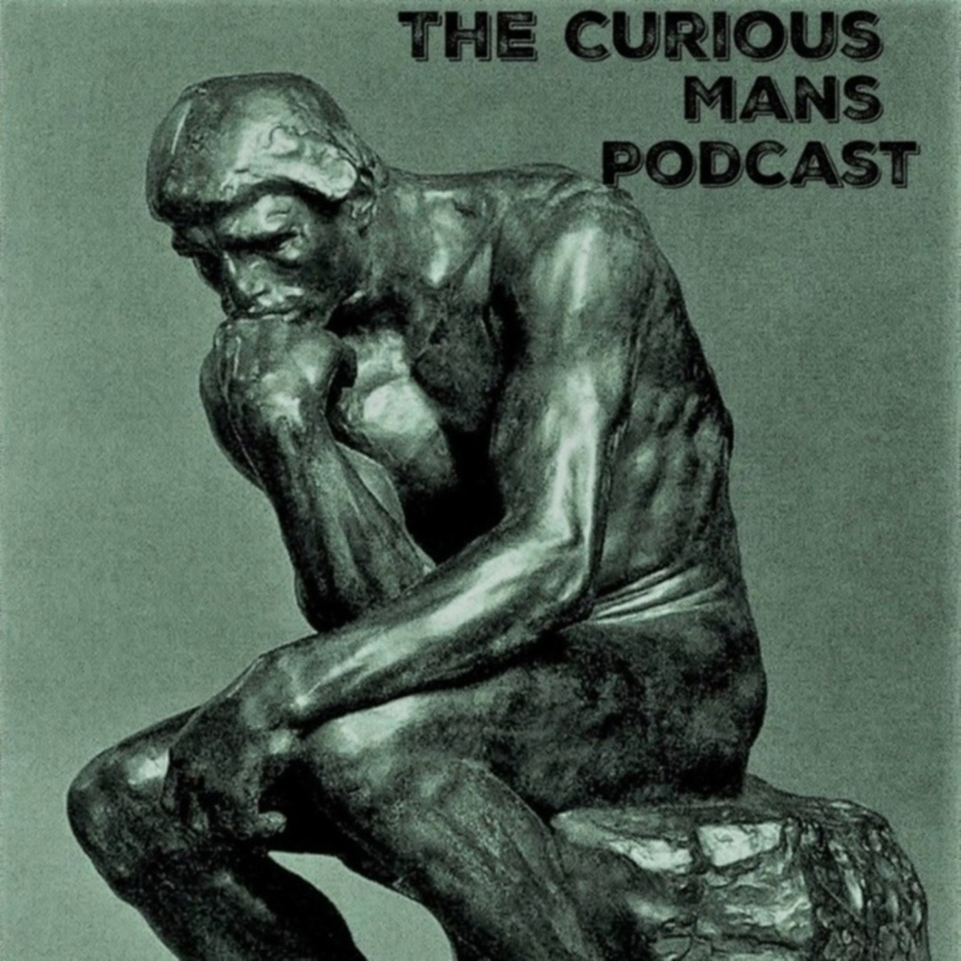 Thecuriousmanspodcast show art