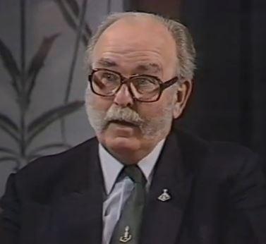 Doug Gray, WW2 Normandy veteran on TV