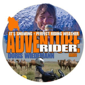 It's Snowing - Perfect Riding Weather? Doris Wiedemann - Picking Up Your Bike.