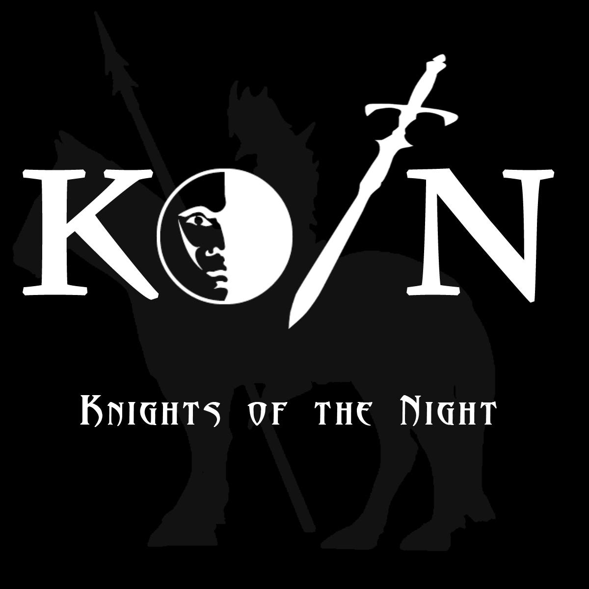 Knights of the Night Actual Play Podcast logo