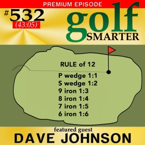 532 Premium: Master your chipping with RULE of 12 and get closer to the pin every time!  with Dave Johnson