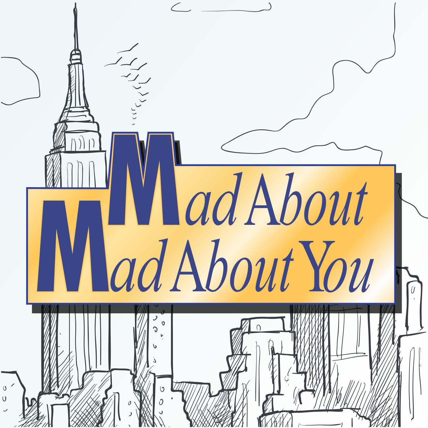 Mad About Mad About You show art