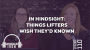 Artwork for In Hindsight: Things Lifters Wish They'd Known - Episode 110