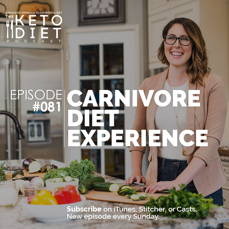 #081 Carnivore Diet Experience with Kelly Hogan