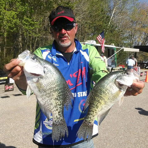 Ronnie Capps Crappie fishing Know How HFJ 59