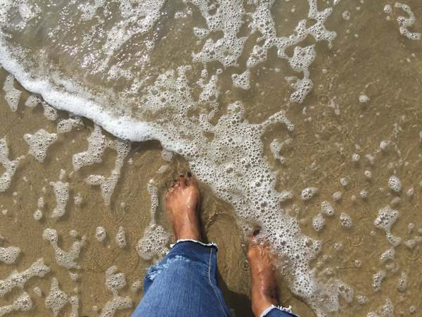 NJ Toes in the Pacific