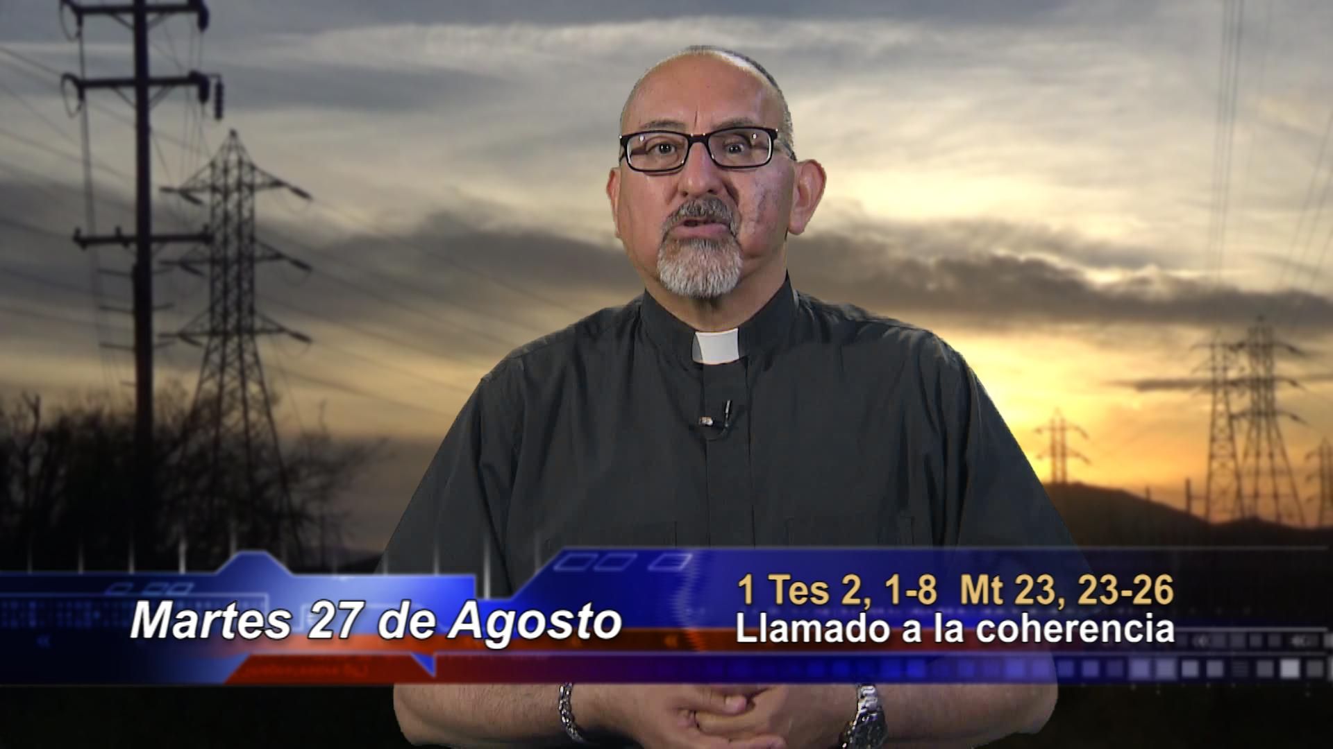Artwork for Dios te Habla con Fr. Roberto Flores, SVD; Tema el hoy: Llamado a la coherencia