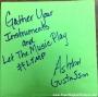Artwork for EP# 65 Let the Music Play – Ashton Gustafson (Entrepreneur, Author, and Speaker)