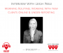 Artwork for LTBP #117 - Leigh Peele: Morning Routines, Working With New Clients Online & Under-reporting