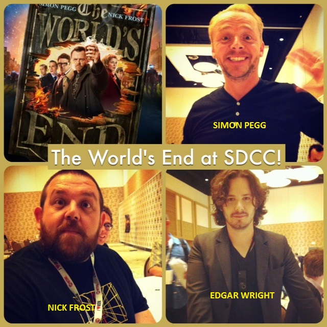 Episode 494 - SDCC: The World's End w/ Simon Pegg, Nick Frost and Edgar Wright!